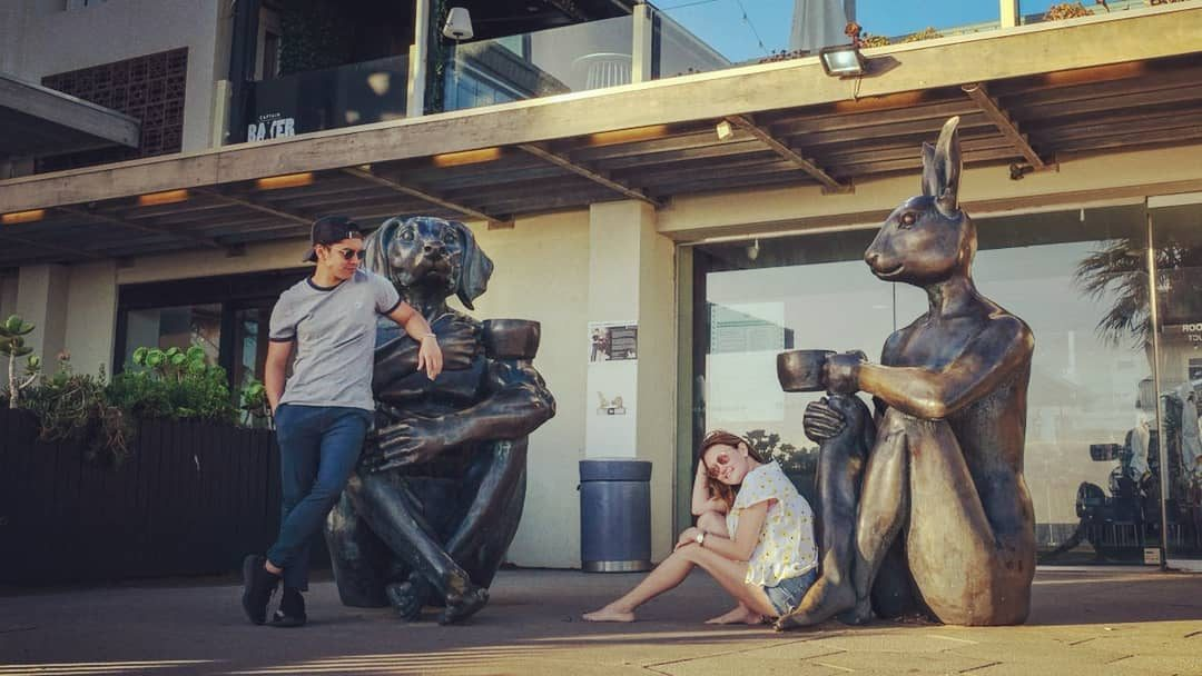 Confirmed: Angelica Panganiban and Carlo Aquino spend time together in Australia