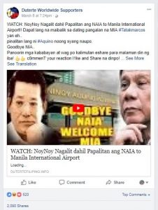 Busted: Top fake news in the Philippines this week – The Filipino ...