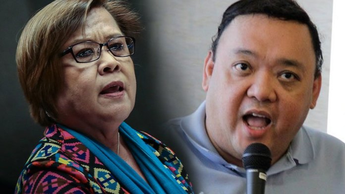 Roque to De Lima: Stop 'attacking' me, I'll stop hitting you back