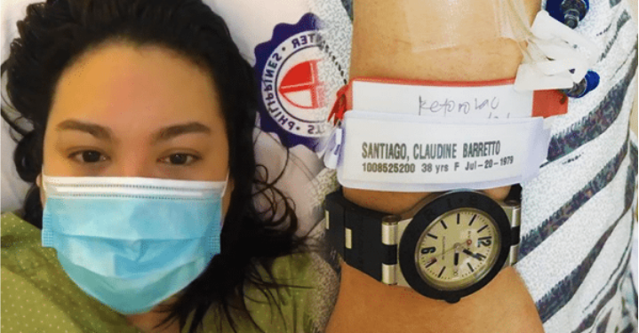 Claudine Barretto rushed to hospital after fainting, falling down stairs
