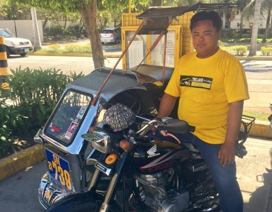 Tricycle driver returns passenger's P22,000 cash