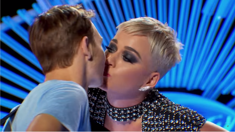 "Katy Perry slammed for ""sexually harassing"" American Idol auditionee"
