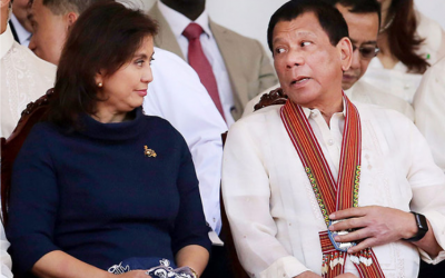 Robredo urges Duterte not to use emotions over ICC issue