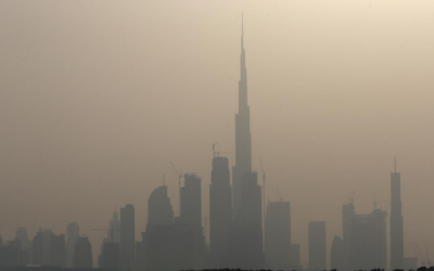 Weather in UAE continues to be cloudy, hazy