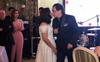 Joey de Leon ties the knot with long-time partner Eileen Macapagal