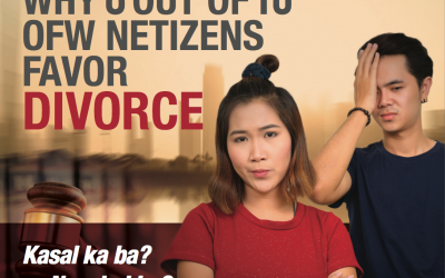 Pulso ng bayan: Why 8 out of 10  OFW netizens favor divorce