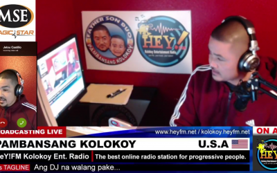 Pambansang Kolokoy is now an online DJ