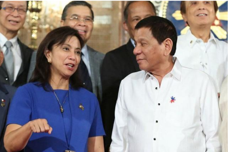 "Robredo will make a ""young, beautiful president"", Duterte says"