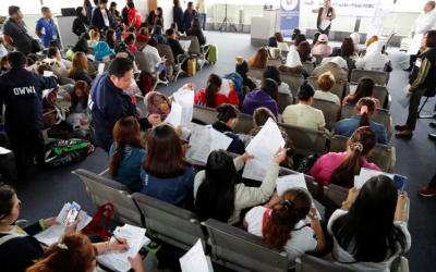 OWWA extends P25-million help to OFWs affected by deployment ban