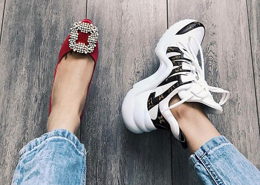 LOUIS VUITTON SNEAKERS  New fashion trend among PH celebs - The ... 3820d987ab