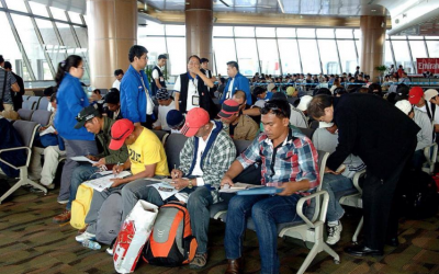 New batch of repatriated OFWs from Kuwait arrives in PH
