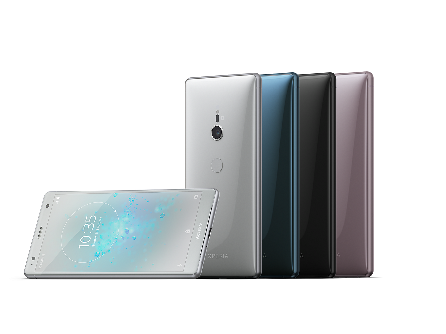 New flagship Xperia range  takes smartphone entertainment to the extreme