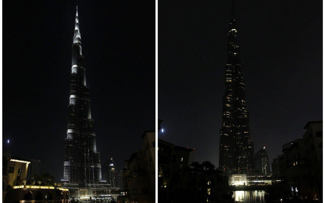 LOOK: Burj Khalifa, other Dubai landmarks flip the switch for Earth Hour