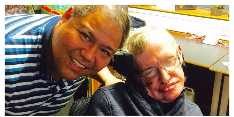 Stephen Hawking's best nurse is Filipino