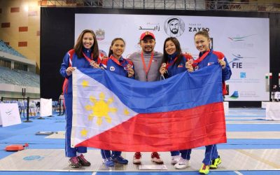 Phil women's fencing team brings home the bronze