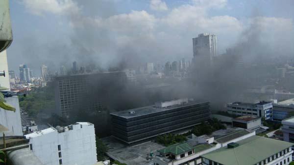 Latest update on Waterfront Manila Pavilion fire