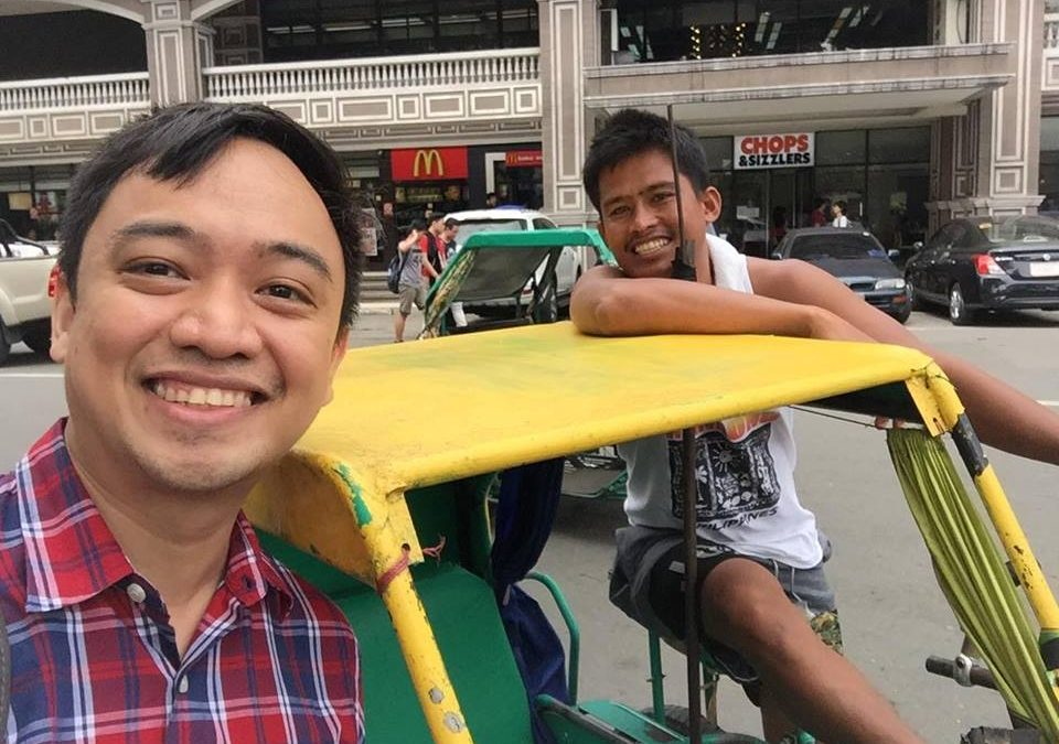 Filipino doctor realizes this man is not just a random stranger