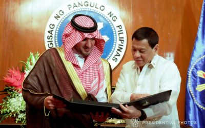 PH, Saudi reaffirm protection of rights, security of OFWs