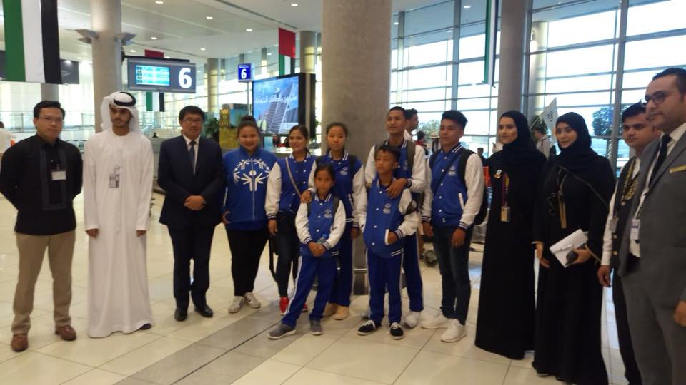 Philippine delegation to the Special Olympics IX MENA Games 2018 arrives today in Abu Dhabi