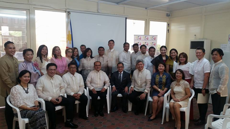 Abu Dhabi Bayanihan Council Installs New Batch Of Officers