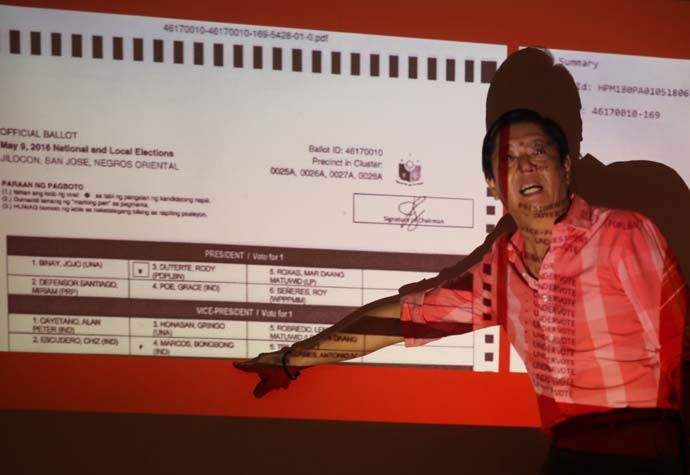 Marcos' missing audit logs claim questioned