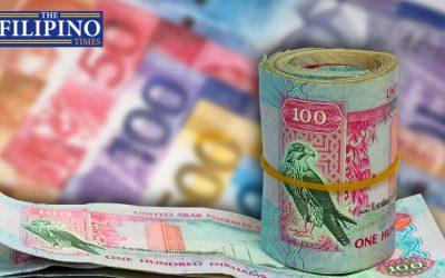 Dirham-peso exchange rate lingers at P14 plus