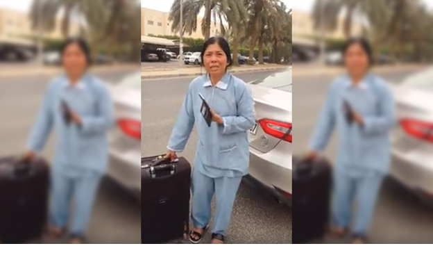 OFW's employment terminated after 14-year service, cries for help to go home
