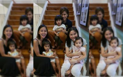IN PHOTOS: Pinoy Big Brother hosts reunite with their children