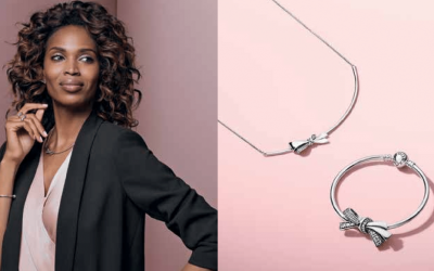 Timeless Ties: Bow-inspired jewelry featured in PANDORA's spring style