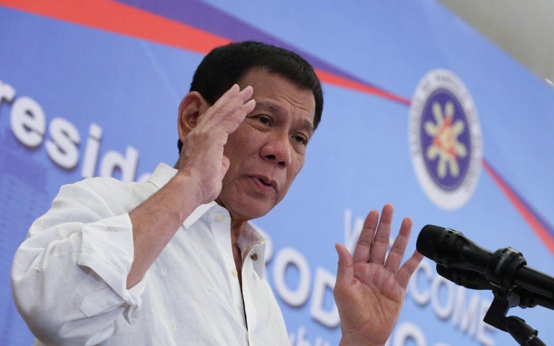 Duterte calls Sereno his enemy