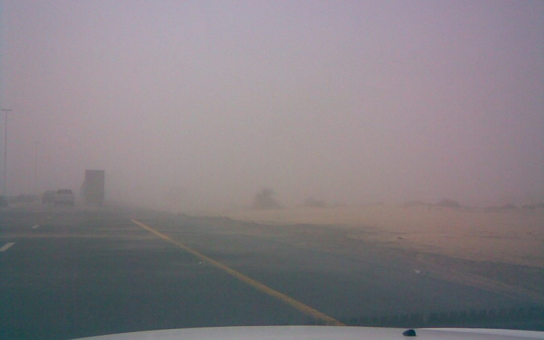 Sandstorm, rain in some areas of UAE today