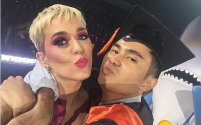 WATCH: Katy Perry gives early graduation gift to Filipino student