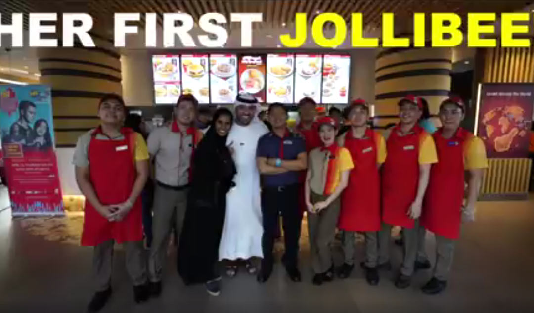 WATCH: UAE vlogger shares wonderful experience in Jollibee