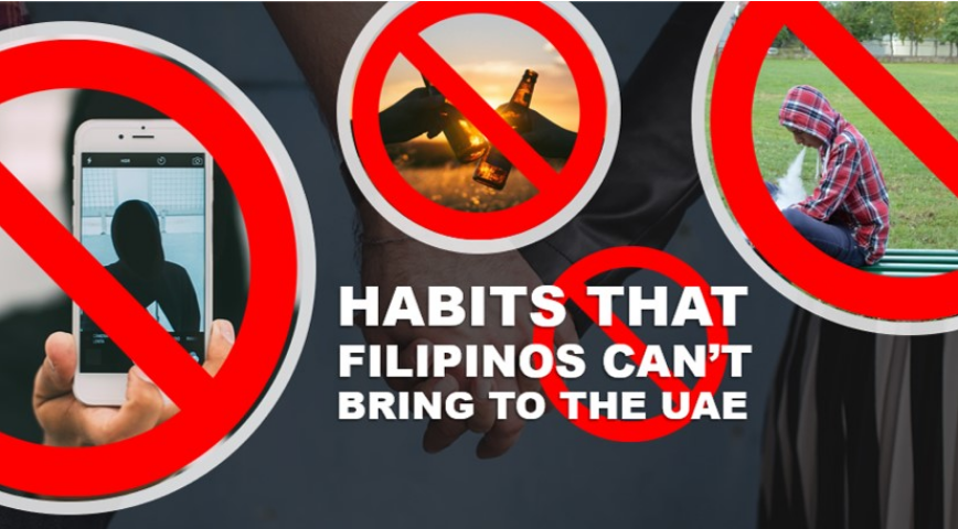 6 habits Filipinos can't bring to the UAE