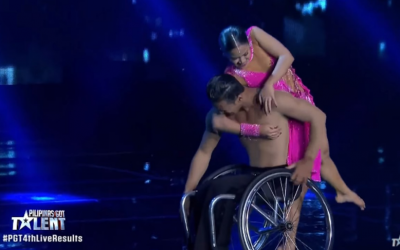 WATCH: World-class wheelchair dance routine in PGT