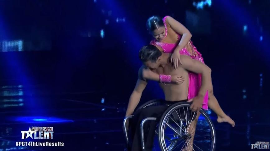 WATCH: World-class wheelchair dance routine in PGT