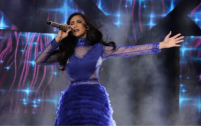 Sarah Geronimo dons gown by UAE-based designer during concert