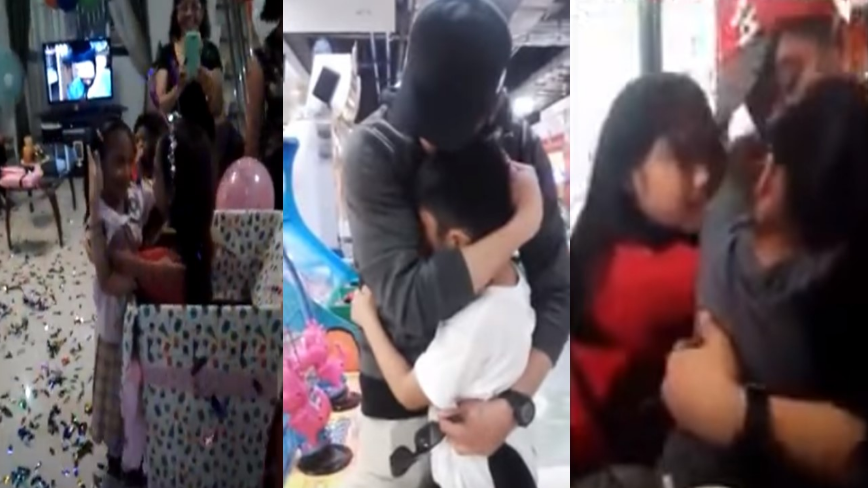 These OFWs planned the perfect surprise for their homecoming