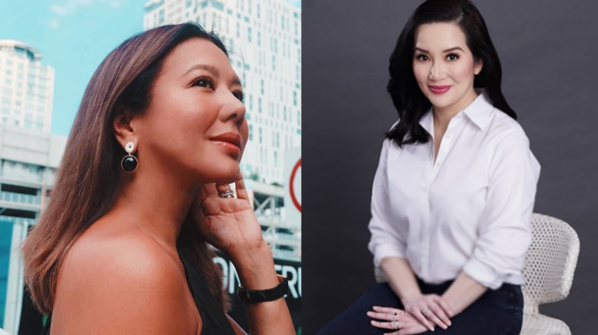 Is Korina Sanchez's Instagram hashtag intended Kris Aquino?