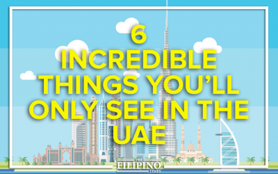 6 incredible things you'll only see in the UAE