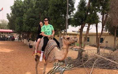 LOOK: Elmo Magalona, Janella Salvador in Dubai