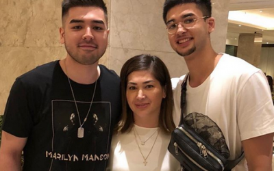 LOOK: Jackie Forster reunites with her sons after 12 years
