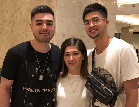 8e0f1e004bf6 LOOK  Jackie Forster reunites with her sons after 12 years - The ...