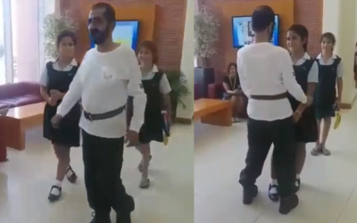 WATCH: Ruler of Dubai picks up daughter from school