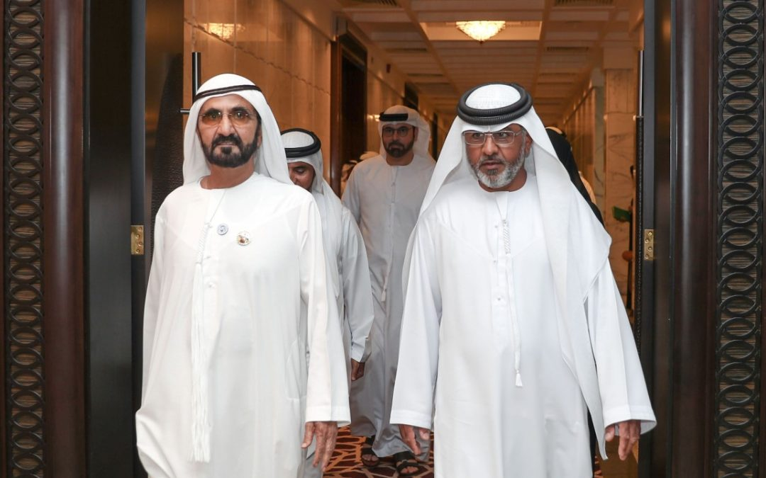 Emirati man mocked on air is hired by gov't; attends UAE Cabinet Meeting with Sheikh Mohammed bin Rashid