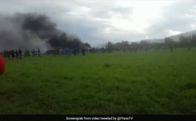 BREAKING: Plane crash 'kills 200 people' in Algeria