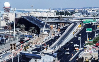 RTA opens 3 new bridges on Airport Street in UAE