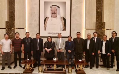 PH officials arrive in Kuwait to meet OFWs