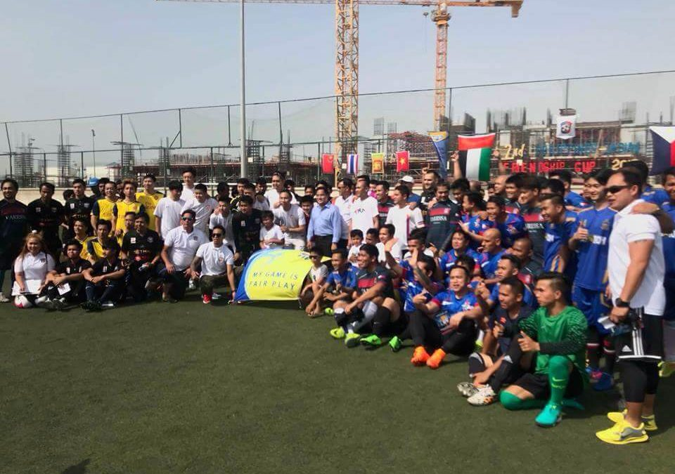 Pinoy Futbol Club kicks off the 2nd Philippines-Asian Friendship Cup