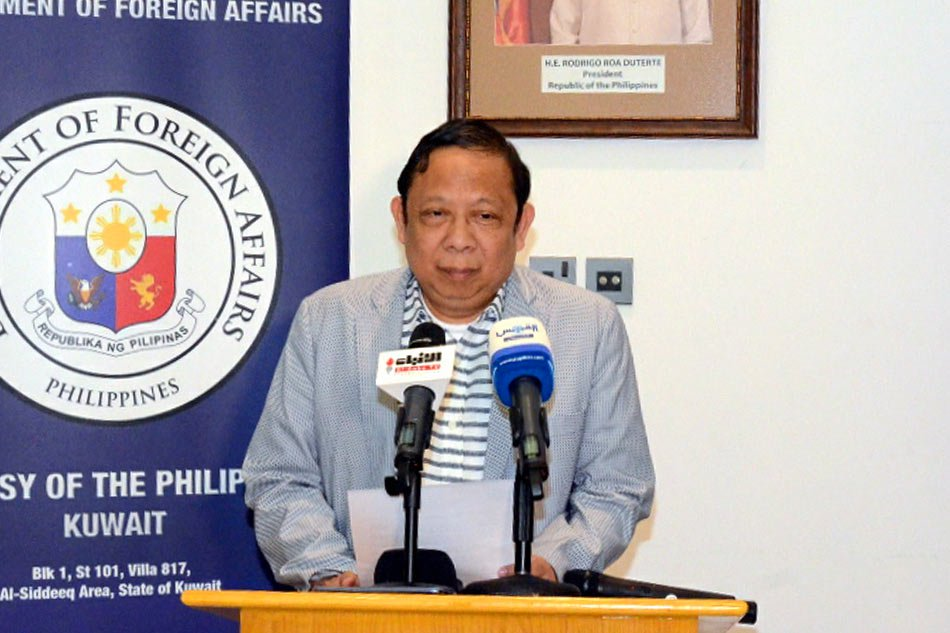 Kuwait declares PH envoy persona non-grata